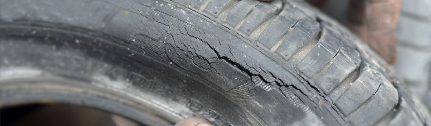 How to handle a tire blowout