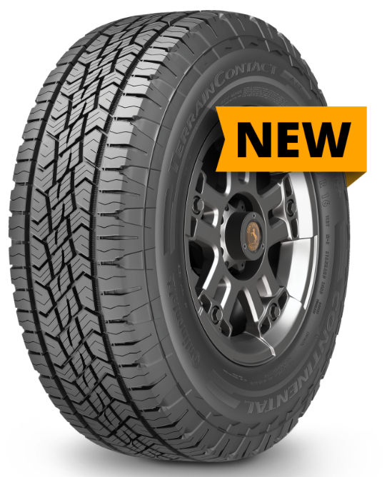 Continental Rolls Out New Terraincontact A T Tire The Tires Easy Blog