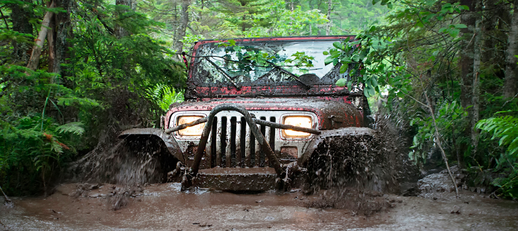 Mudding : The Joy of Getting Stuck
