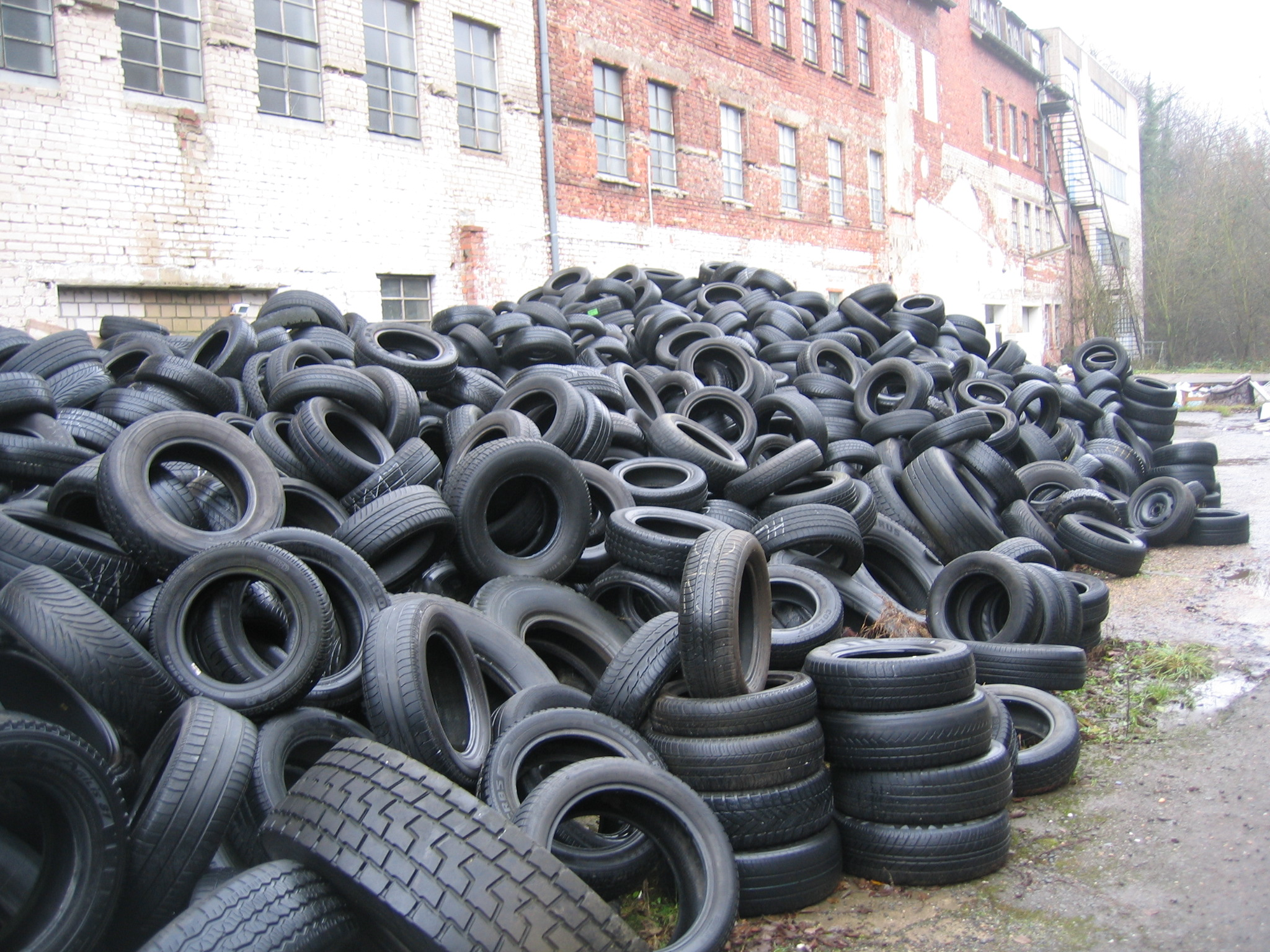 Old Tires Recycling