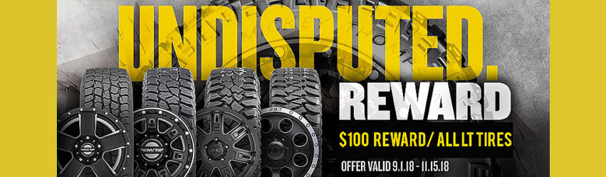 Mickey Thompson Truck Tires Rebate