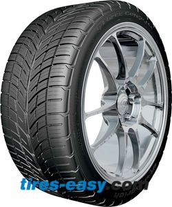 BF Goodrich G-Force Comp 2 A/S tire with tread design showing