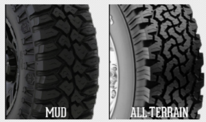 Differences Between Mud And All Terrain Tires