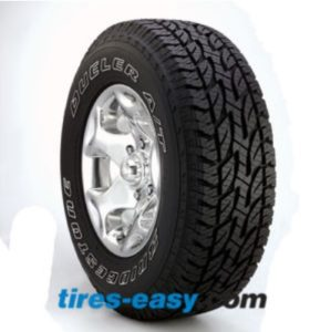 Bridgestone Dueler AT REVO 2 P245 tire for trucks and SUVs