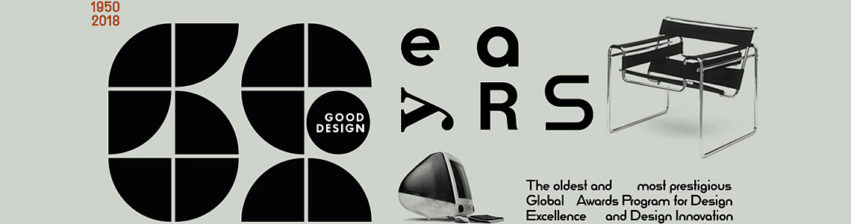 Good Design Award 2018 for Design Excellence and Design Innovation