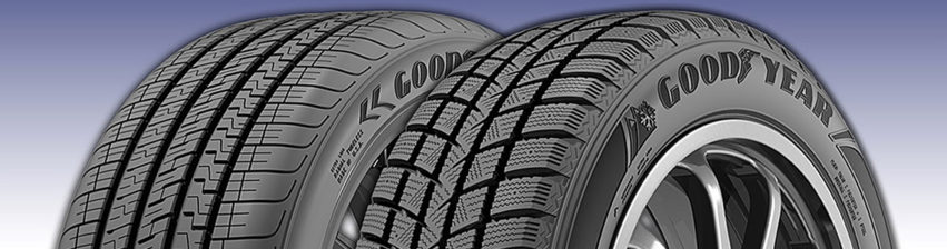 Goodyear Winter Command and Eagle Exihilarate 2019