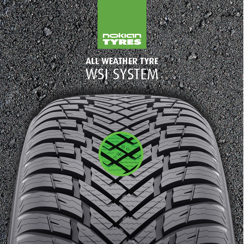 Nokian Winter Safety tire indicator