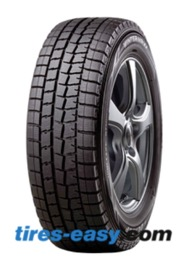 The Dunlop Winter Maxx tire on a rim