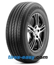 Bridgestone Dueler H/L 422 ECOPIA Tire and wheel showing its tread design