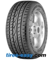 Continental CrossContact UHP Tire and rim