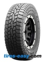 Falken Rubitrek A/T Tire on a black rim showing tread design
