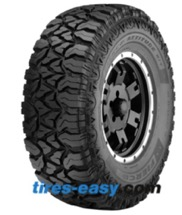 Goodyear Fierce Attitude M/T showing the aggressive mud tread design