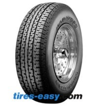 Goodyear Marathon trailer tire displaying its tread design