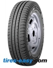 Michelin Agilis Tire Displayed on a rim showing the tread design