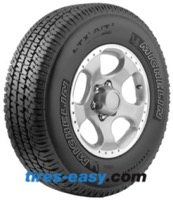 Michelin LTX A/T 2 Tire displaying the All terrain tread design