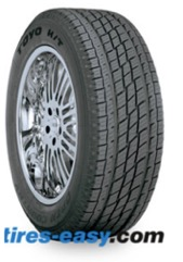 Toyo Open Country H/T Tire with its tread design showing