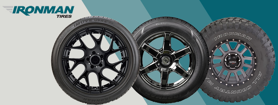 New Affordable Brand – Ironman Tires – The Tires-Easy Blog