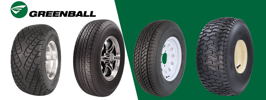 Greenball Trailer and specialty tires