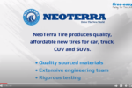 Neoterra Tires - Affordable & Dependable Tires - Video