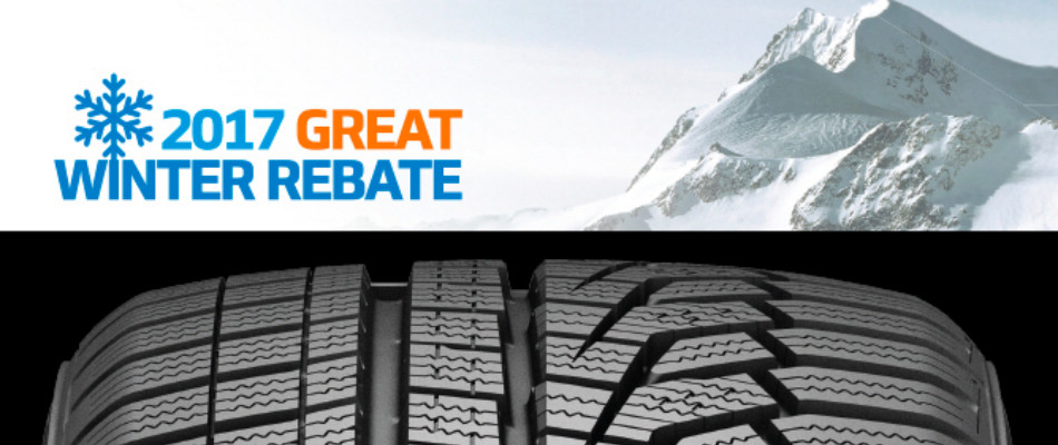 Hankook Winter Tire Great Rebate 2017