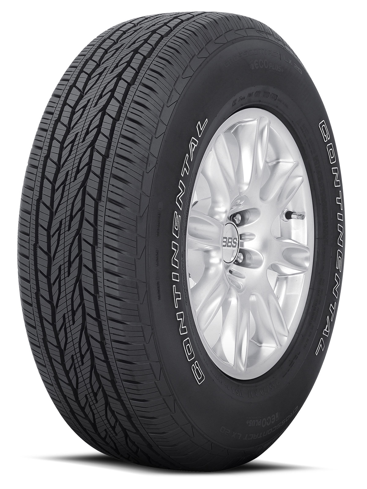 Continental Tires CrossContact LX20 With Ecoplus Technology