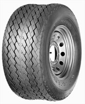 Power King Tires Turf Rib