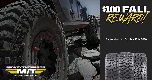 Mickey Thompson Tires Rebate