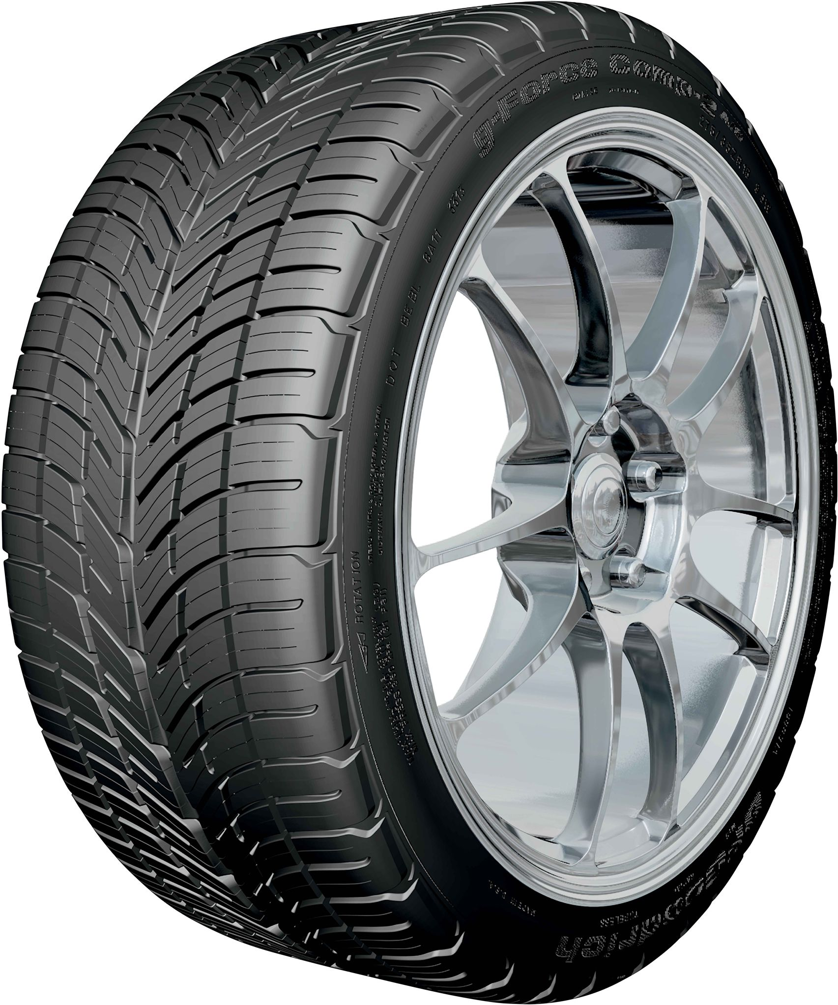 BF Goodrich Tires g-Force Comp-2 A/S