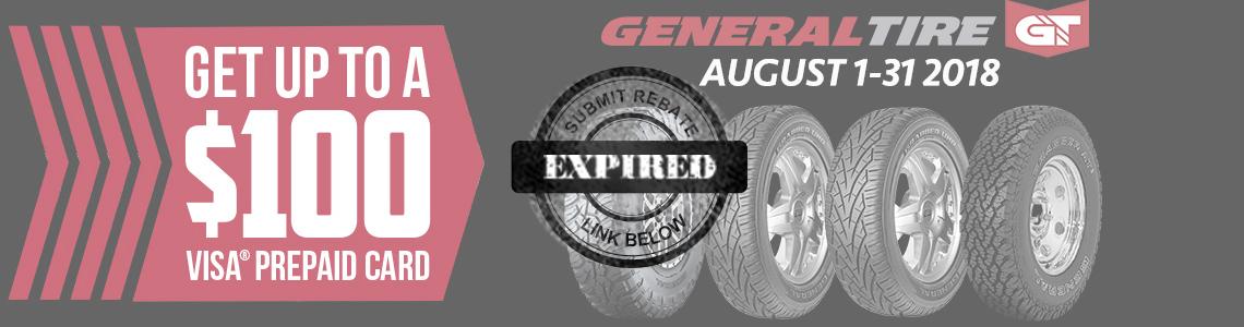 General Tire Rebate 2018 Tires Easy Com