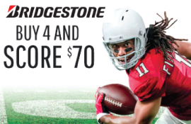 Bridgestone Fall 2017 Rebate
