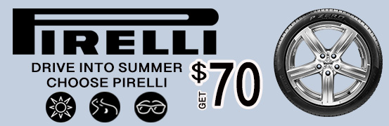 Choose Pirelli Summer 2018  Rebate