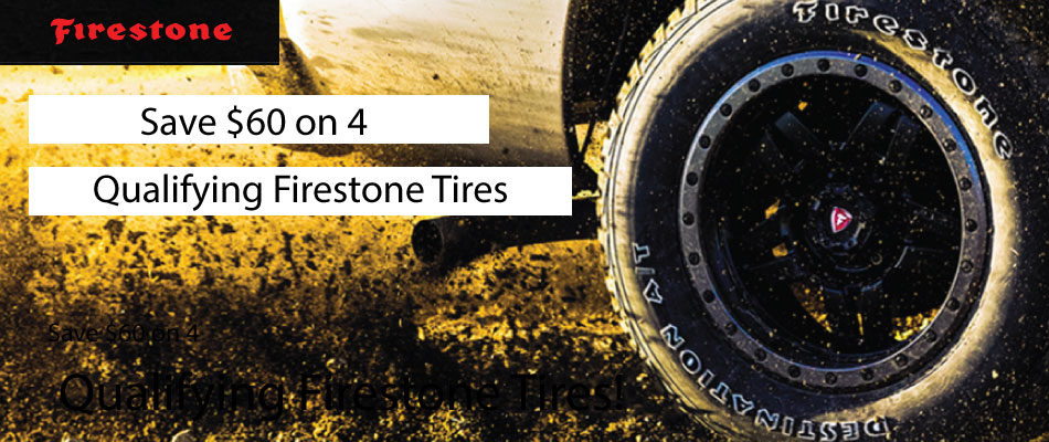Firestone Summer 2017 Tire Rebate