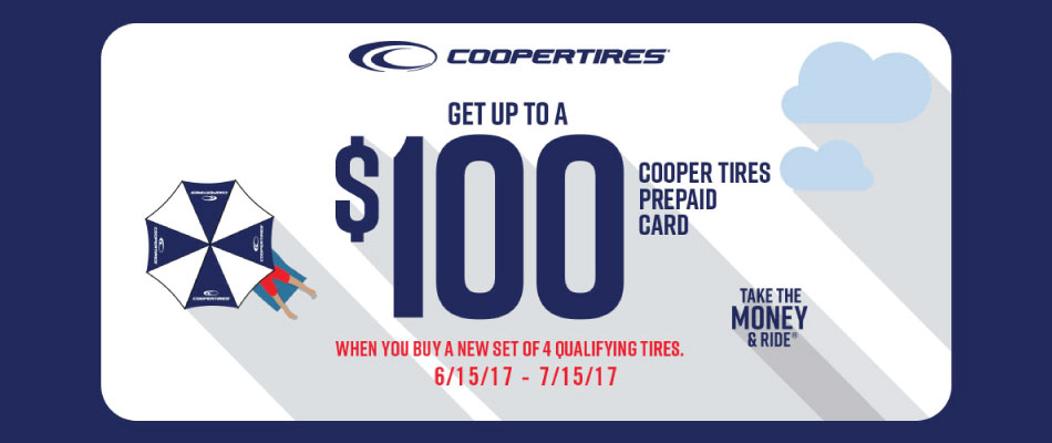 Cooper Tire Summer 2017 Tire Rebate Tires Easy Com