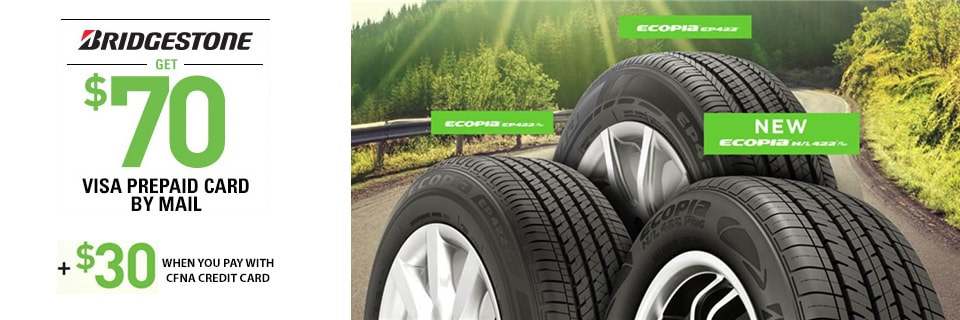 Dueler H L Alenza Plus >> Bridgestone Tire 2018 Rebate | Tires-easy.com
